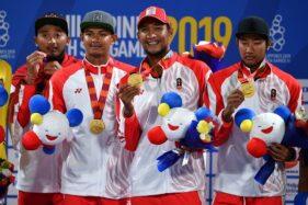 Mantap! Indonesia Lampaui Target 45 Emas SEA Games 2019
