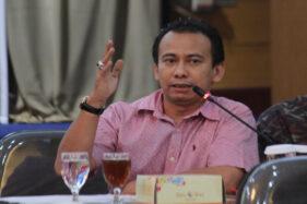 Ketua Panitia Pendaftaran Balon Pilkada 2020 DPD PDIP Jateng, Abang Baginda Muhammad Mahfuz Hasibuan. (Semarangpos.com-Humas DPD PDIP Jateng)
