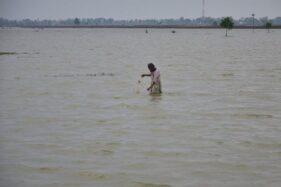 100 Ha Sawah di Kudus Terendam Banjir