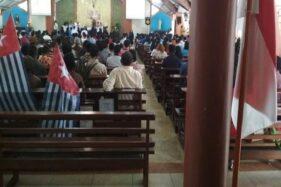Mahasiswa Papua Ditangkap di Gereja