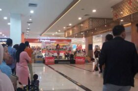 Suasana pengundian Grand Prize Candi Sale 2019 di Solo Square Mall, Solo, Minggu (8/12/2019) malam. (Solopos-M. Ferri Setiawan)