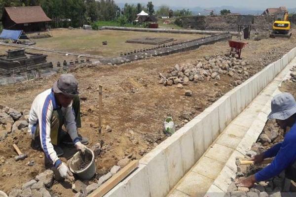 Situs Liyangan Kini Dilengkapi Drainase, Ini Gunanya...