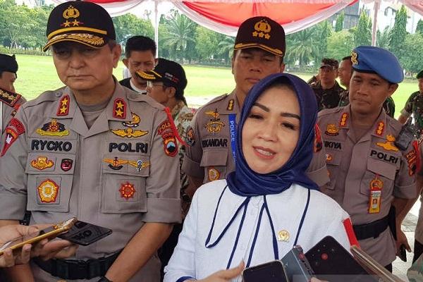 Legislator Pusat Awasi Gelar Pasukan Operasi Lilin Candi di Semarang