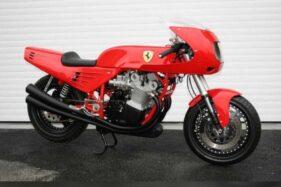 Sepeda motor Ferrari. (Detik.com)