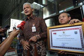 Hari Antikorupsi, Jateng Raih Penghargaan Kemendagri