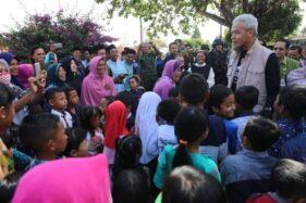 Gubernur Jateng Sidak Gereja di Kabupaten Semarang, Santri dan Suster Menyambut