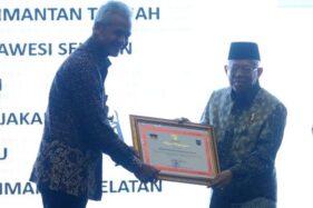Pemprov Jateng Raih Penghargaan Cegah Korupsi