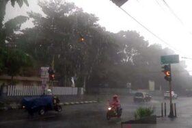 BMKG: Jateng Selatan Terancam Hujan Lebat