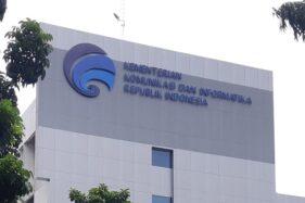Kantor Kemenkominfo. (Bisnis.com-Samdysara Saragih)