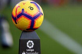 Bola La Liga Spanyol musim 2019-2020. (Reuters-Albert Gea)