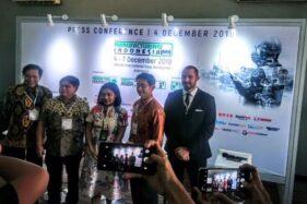 Konferensi pers Manufacturing Indonesia 2019 di Jakarta International Expo, Kemayoran, Jakarta Pusat, Rabu (4/12/2019). (Istimewa)