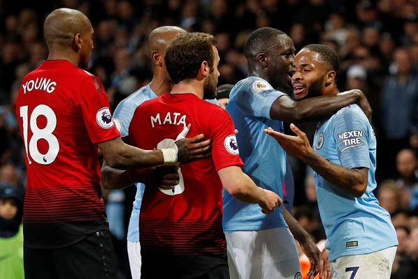 Manchester City Vs Manchester United (Reuters-Darren Staples)