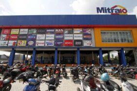 Suasana di supermarket bahan bangunan Mitra10 Solo Baru, Selasa (10/12/2019), menjelang grand opening. (Solopos-M. Ferri Setiawan)