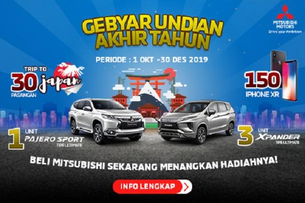 Promo akhir tahun Mitsubishi. (Istimewa)