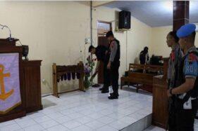 Gegana Dikerahkan ke Gereja di Banjarnegara