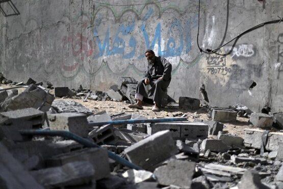Perbatasan antara Gaza di Palestina dan wilayah Israel. (Reuters)