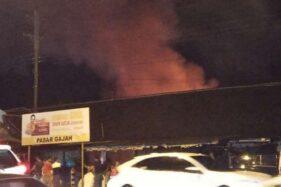 Pasar Gajah Demak Terbakar Lagi