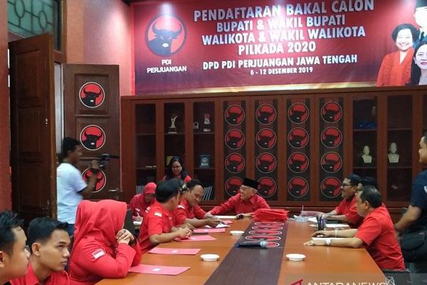 Bahkan Pejabat Pemprov Jateng Daftar Jadi Calon Kepala Daerah via PDIP Jateng