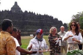 Putri Mahkota Denmark Puji Pelestarian Borobudur