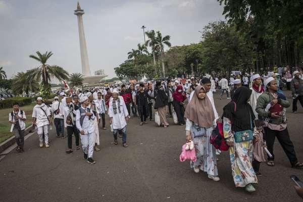 Reuni 212 Doakan Jokowi-Maruf Amin, PKS Mengaku Terenyuh