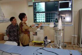 Ruang pemasangan ring jantung di Rumah Sakit Mardi Rahayu Kudus, Jawa Tengah. (Antara)