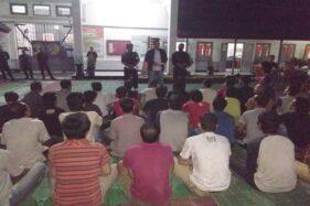 50 Warga binaan pemasyarakatan (WBP) dari Jakarta tiba di Rutan Kelas IIB Wonogiri, Jumat (6/12/2019) malam. (Istimewa-Dok. Rutan Kelas IIB Wonogiri)