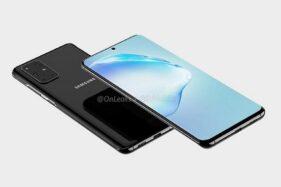 Prediksi bentuk Samsung Galaxy S11. (Twitter-OnLeaks)