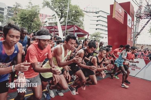 Semarang 10K Diramaikan 2.000 Pelari, Sejumlah Ruas Jalan Ditutup