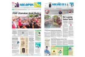 Harian Umum Solopos edisi Jumat (13/12/2019).