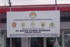 Ditegur Kemenhan Soal Logo TNI, PT RUM Sukoharjo Minta Waktu