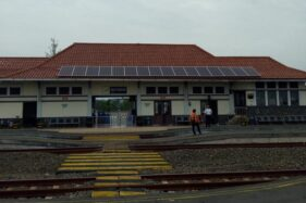 Gunakan PLTS, Stasiun Batang Diganjar Rekor Muri