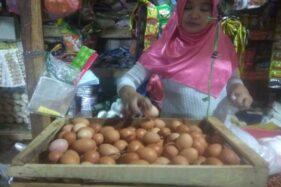 Naik Tiap Hari, Harga Telur Ayam di Boyolali Rp25.000/Kg