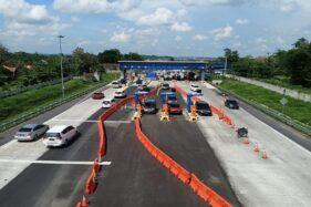 Gerbang Tol Colomadu, Karanganyar. (Solopos/Burhan Aris)