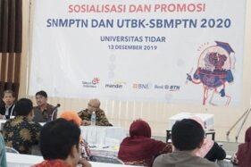 Sosialisasi SNMPTN, UTBK, SBMPTN diselenggarakan Universitas Tidar dengan peserta para guru BK di wilayah eks-Keresidenan Kedu di Gedung Wisma Sejahtera Kota Magelang, Jumat (13/12/2019). (Antara-Humas Untidar Kota Magelang)