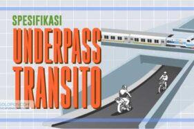 Underpass Transito Solo Bisa Dilewati Akhir September 2020