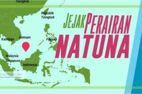 Infografis Perairan Natuna (Solopos/Whisnupaksa)