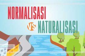 Naturalisasi atau Normalisasi Sungai, Apa Bedanya?