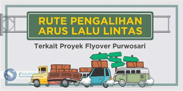 Deal!Flyover Purwosari Dibangun, Ini Jalur Bus dan Truk dari Wonogiri-Sukoharjo