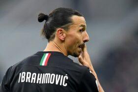 Striker AC Milan Zlatan Ibrahimovic. (Reuters-Daniele Mascolo)