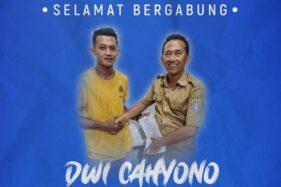 Dwi Cahyono gabung PSCS Cilacap (Instagram)