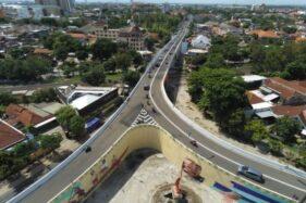 Bahaya! Baut Penutup Drainase di Flyover Manahan Solo Copot Lagi