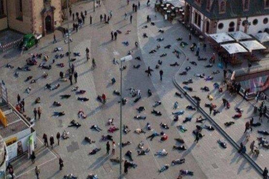 Foto Viral Korban Virus Corona Bergelimpangan di Jalanan China Hoaks, Cek Faktanya!