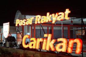 Pasar Carikan Sukoharjo Beroperasi 24 Jam, Malam Jadi Pusat Kuliner