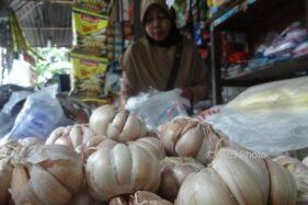 Harga Bawang Putih di Solo Rp50.000/Kg, Awas Inflasi!