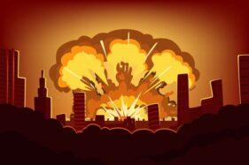 Ilustrasi ledakan. (Freepik)