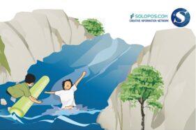 Kronologi Anak Hanyut di Bengawan Solo Akibat Lompat dari Jembatan di Wonosari Klaten
