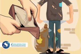 Ilustrasi kemiskinan. (Solopos/Whisnupaksa Kridhangkara)