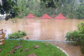 MTsN 4 Malang Kebanjiran Di Hari Pertama Masuk Sekolah
