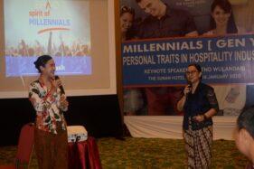 Karyawan Milenial The Sunan Hotel Solo Dibekali Training Industri