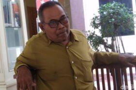 Ngatum, orang tua SHP yang jadi korban penganiayaan guru MTs Dagan. (detik.com)